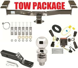 2011 - 2014 Ford Edge Complete Trailer Receiver Tow Hitch Package Fast Shipp