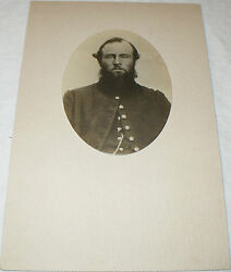 Rare Named Us Army Killed In Civil War Soldier Military Antique Photograph