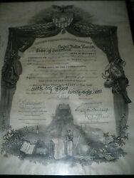 Rare Wwii Usac Mjr General August Walter Kissner West Point Military Diploma