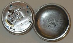 Antique 1887 Elgin Pocket Watch Swing Out Movement 18 Size Working