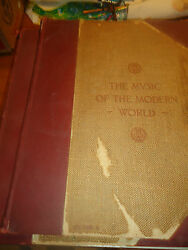 The Music Of The Modern World 10 Vol Numbered 500 Edition. Appleton 1895. Rare