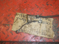 Triumph Trophy Tr6c 1971-72 Oil Lines I Have More Parts For This Bike/others
