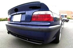 For Bmw E36 3 Series Coupe Rear Boot Trunk Spoiler Lip Wing Trim Lid M3 M Tech