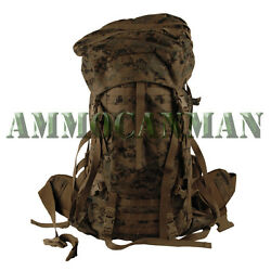 Gen 2 Marpat Complete Ilbe Arcyteryx Pack W/lid,hip Belt And Radio Pouch