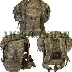 Brand New Dacu Us Army Molle Ii Acu Rucksack Complete Back Pack W/ 2 Pouches