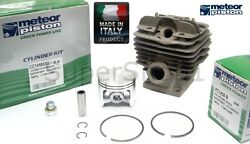 Meteor Cylinder And Piston Kit For Chainsaw Stihl Ms360 Ms340 48mm Made In Italy