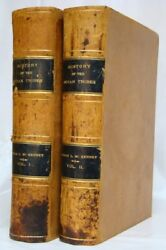 THE INDIAN TRIBES of NORTH AMERICA McKenney Hall 1872 Handcolored Lithographs