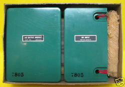 New Bell And Howell Control Products Mv Out And In Module 380715-01 And 222420-01 Plc