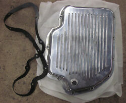 New Turbo 400 Automatic Transmission Finned Aluminum Pan