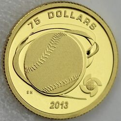 2013 75 Hardball World Baseball Classic Pure Gold Proof, Rare, Only 121 Sold