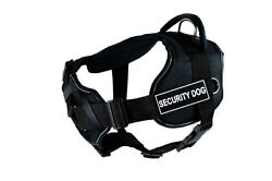 Dean And Tyler Dt Fun With Chest Pad Support Dog Harness With Working Dog Patches