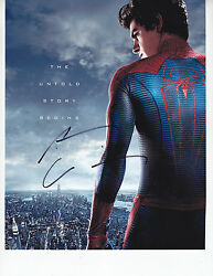 Andrew Garfield - The Amazing Spiderman - Signed 8x10