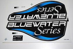 Mercury Outboard Bluewater Series Decal Oem 37-854699-15