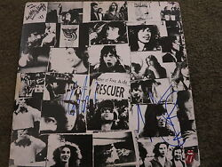 Rolling Stones Signed Lp Acoa + Proof Keith Richards Charlie Watts Mick Taylor