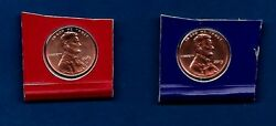 2013 P And D - Bu Uncirculated Lincoln Penny Cent Update Set- Two Coins-in Stock