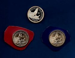 2013 P And D Plus S Proof Sacagawea Native American Dollars-3 Coins-in Stock