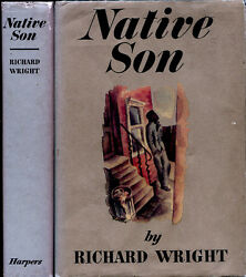 Native Son By Richard Wright 1st Thus Hardcover 1968 African-american Lit