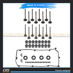 Fits Hyundai Accent 1.6l Intake Exhaust Valve Kit Stem Seal Lifters Valve Cover