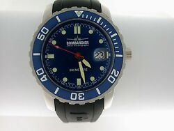 Bombardier Watch Man's Collector Item Sd415-254 37th Watch Made Nib