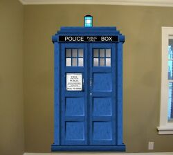 Doctor Who TARDIS Repositionable Large Wall Graphic (48