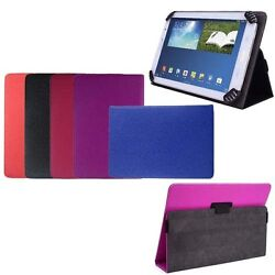Universal Premier Pu Leather Folio Cover Smart Stand Case For 7andldquo Tablets