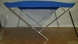 Bimini Top 7and0396 Long Stainless Steel Frame - 5 Year Warranty Fabric