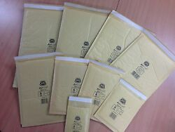 Genuine And039goldand039 Jiffy Bags All Sizes Jl000 00 0 1 2 3 4 5 6 + 7 +all Free 24h Del