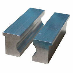4 Aluminum Barrel Vise Jaw Pads For Rifle Pistol Shafts And Round Stock