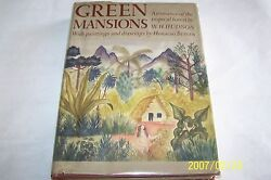 Green Mansions By W. H. Hudson, Paintings And Drawings, Horatio,1943 Usa
