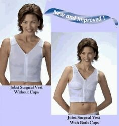 Jobst Post Surgical Vest Compression Recovery Operate Augmentation Surgery Cover