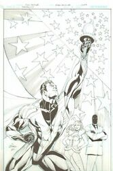 Tranquility 1 Cover - Judge Fury And Pink Bunny - 2010 Art By Ethan Van Sciver