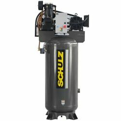 Schulz L-series 7.5-hp 80-gallon Two-stage Air Compressor 230v 1-phase