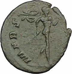 Claudius Ii Gothicus 268ad Ancient Roman Coin Ares Mars War God Cult I39361