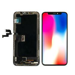 For Iphone X 5.8 Lcd Display Touch Screen Digitizer Assembly Replacement Black