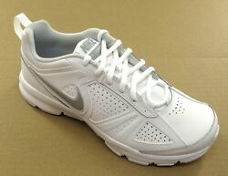 Nike T-lite Xi White Leather Womens Athletic - Nwd - 616696-101 - Size 5-12