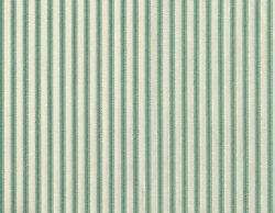 72 French Country Ticking Stripe Pool Blue-green Fabric Shower Curtain