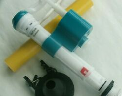 Toilet Fill Valve Soft Rubber Flapper And Overflow Tube Extension