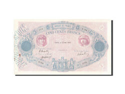 [203910] France 500 Francs 500 F 1888-1940 And039and039bleu Et Roseand039and039 1920 Km