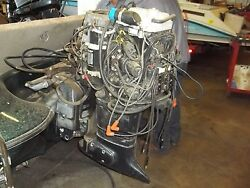 1999 Evinrdue 115hp Ficht Powerhead And Exhaust Housing
