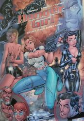The Best Signed Danger Girl Poster Period 1998 San Diego Comic Con Edition.