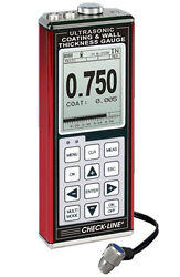 Data-logging Coating And Wall Thickness Gauge W/ 1/4 In 2.25mhz Transducer