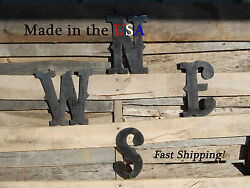8 N, E, S, W Letters-directional Letters-compass Directions-outdoor Art-f1004