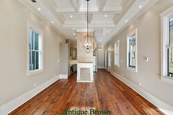 Prefinished 6 8 Wide Plank Pine Flooring, Heart Pine, Hand Rubbed Oil Finish