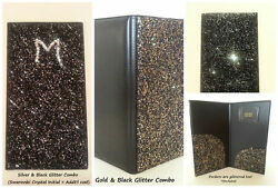 **Sparkle Glitter Waitstaff Server Guest Book Beautiful Shiny and Classy! COMBO