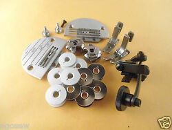 For Juki Ddl-555555083008700 Needle Platefeed Dogwide Foot/roller Feet