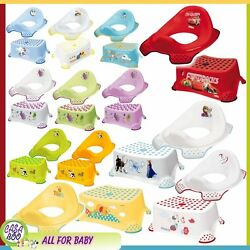 Keeper Children Toddler Toilet Training Seat And Step Stool Many Design New