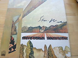 Stevie Wonder Signed Innervisions Lp Exact Proof Coa Rare Autographed