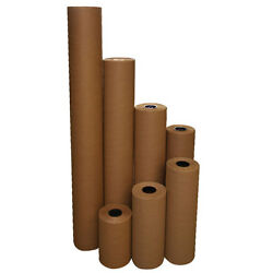 24 40 Lbs 900and039 Brown Kraft Paper Roll Shipping Wrapping Cushioning Void Fill