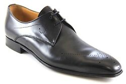 Dogen Men's Oxfords Black Pointy Made In Spain Dress Shoes Style8537