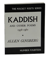 Kaddish and Other Poems ~ SIGNED by ALLEN GINSBERG ~ City Lights Beat Poet